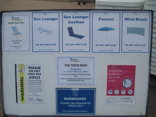 Paignton Pier: What you can hire for the day