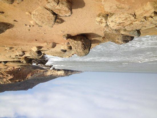 Cabrillo National Monument: rugged coastline
