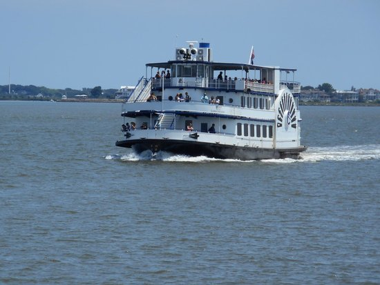 Fort Sumter National Monument: This is the boat you ride!