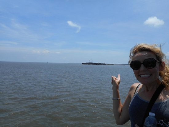 Fort Sumter National Monument: Almost there!