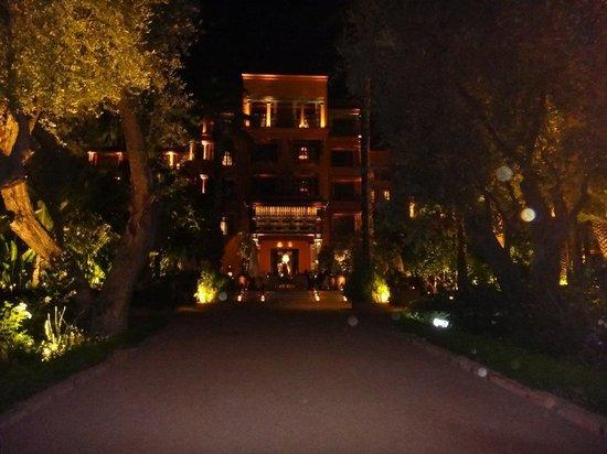 La Mamounia Marrakech: Superbe éclairage de nuit