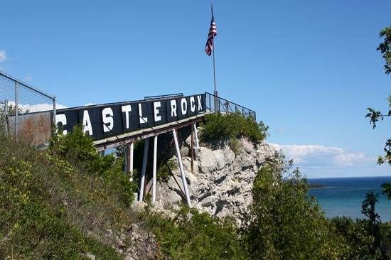 Castle Rock: 2 rocks with gangplank in between form the attraction