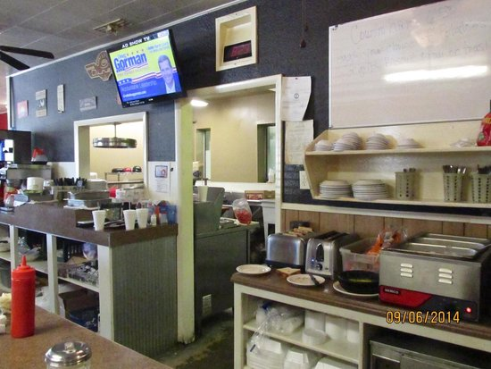 5th Street DINER: Kitchen