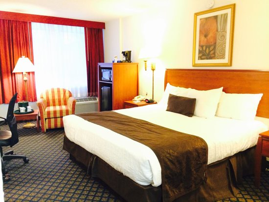 BEST WESTERN On The Bay Inn & Marina: Double room