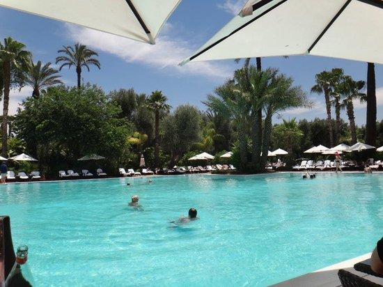La Mamounia Marrakech: magnifique piscine