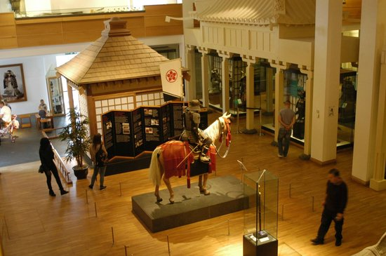 Royal Armouries Museum: Asian armouries display at The Royal Armouries, Leeds.