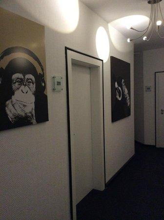 Hotel Heymann: Hallway