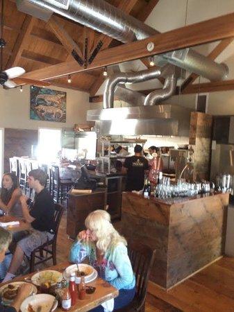 Parish Cafe : Inside seating