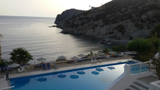 Istron Bay Hotel: view from our room