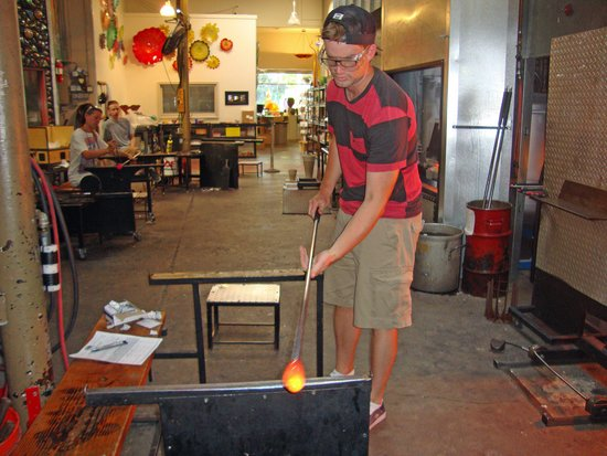 Seattle Glassblowing Studio: Shaping the Glass