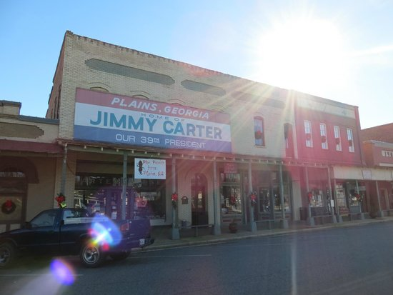 Jimmy Carter National Historic Site : Downtown