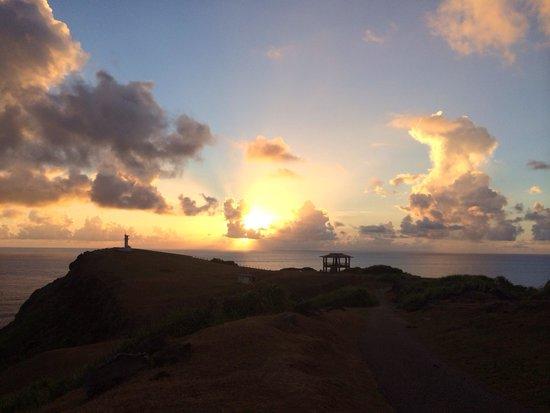 Agarizaki Observatory: 朝日が昇る〜