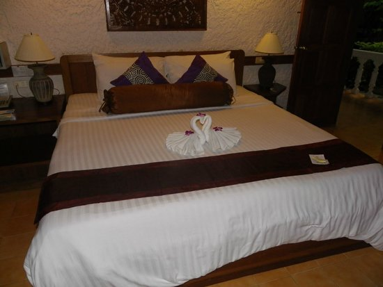 Tropica Resort and Restaurant: The room made up every day