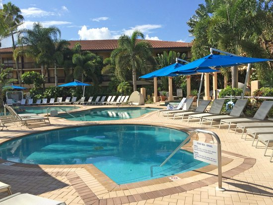 The Spa At PGA National Resort: One Of The Mineral Pools, Available Only To