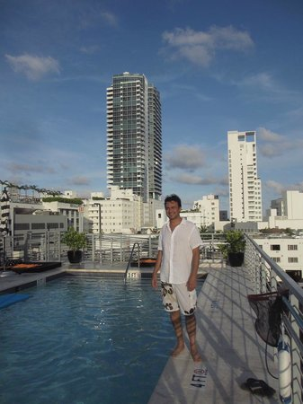 Riviera Hotel Suites South Beach Rooftop Pool At