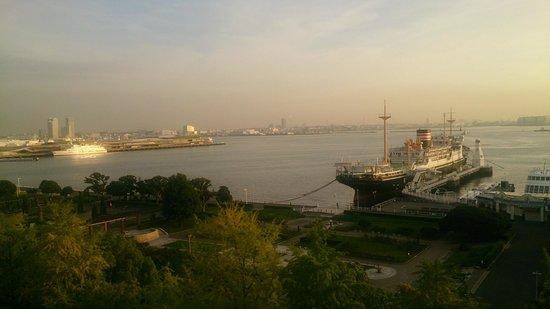 Star Hotel Yokohama: 気持ちの良い朝です!