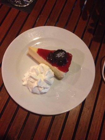 The Coffee Club: Strawberry cheesecake