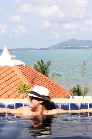 View from Dream Sea Pool Villa 1