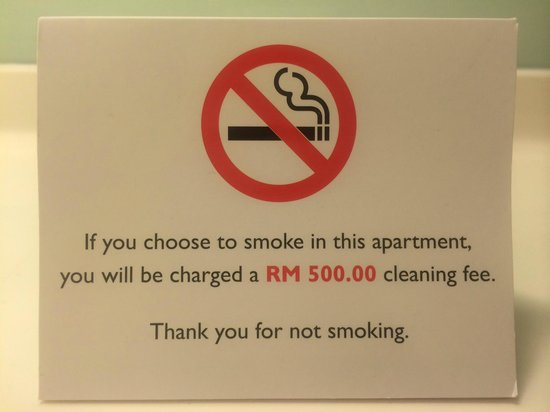Fraser Place Kuala Lumpur : Fining customers