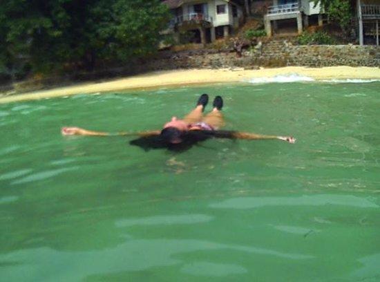 Tohko Beach Resort: Hammock at hut