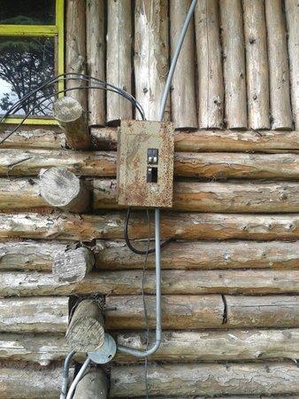 Cabanas Las Ardillas: sistema electrico de la cabaña