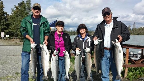 Bob's Cabin & Guide Service: Silver Salmon on the Kenai