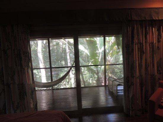 La Cantera Jungle Lodge: Screen prouch