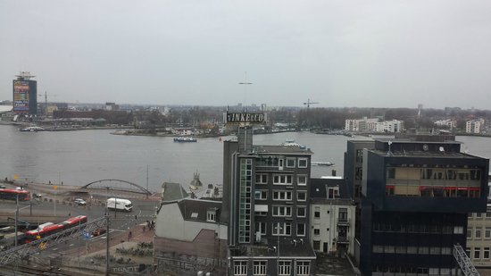 DoubleTree by Hilton Hotel Amsterdam Centraal Station: View from my room overlooking the north of the city
