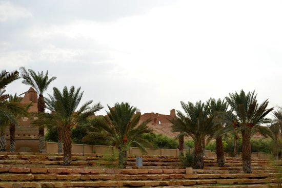 Old Dir'aiyah : vu de l'extérieur