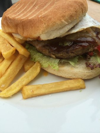 Craypot Cafe & Bar: Burger