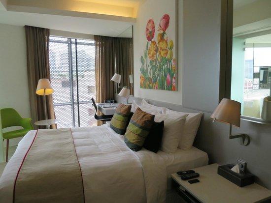 Wangz Hotel : Normal kind bed room