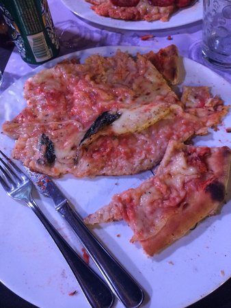 """Campo di Fiori : My """"wet"""" tasteless pizza!"""