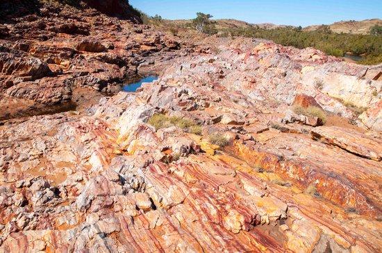 Marble Bar, ออสเตรเลีย: Jasper mine 1