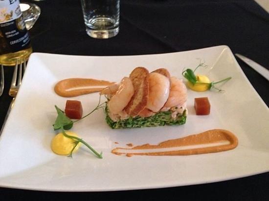 Porto Restaurant: seafood plate starter