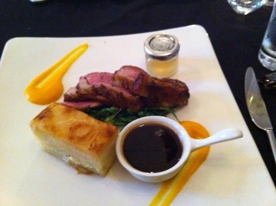 Porto Restaurant: lamb Rump main course
