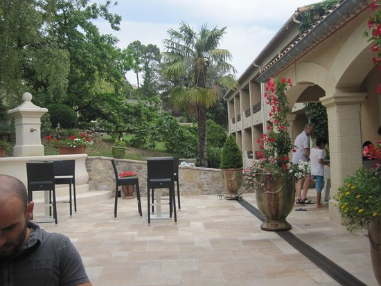Hotel Restaurant La Porte des Cevennes : entrée