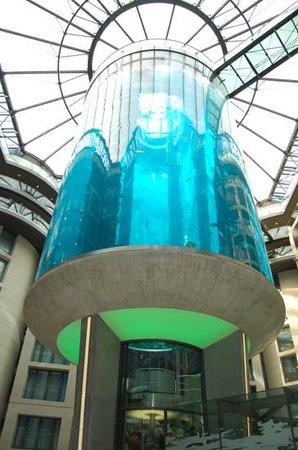 فندق راديسون بلو، برلين: vue du hall