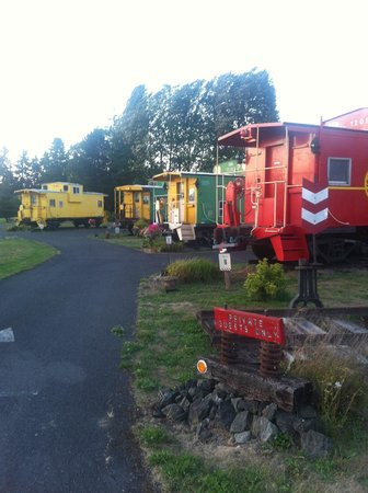 The Red Caboose Getaway track line-up