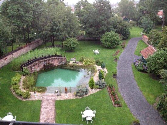 Les Jardins D'Aika : La vue de la chambre