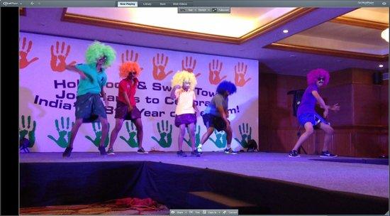 Clarks Exotica Convention Resort & Spa: Boys Dance