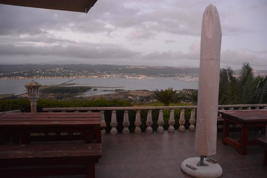 Brenton Hill Self Catering: View from the balcony
