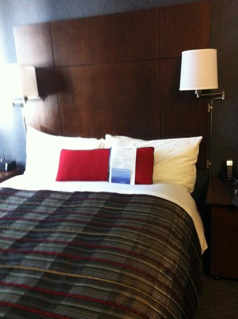 Club Quarters Hotel in San Francisco: The Bed