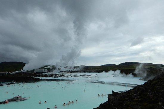 Grindavik, Islandia: geothermal steam
