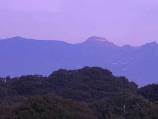 Island Hotel & Resort Nasu: 茶臼岳が見えます