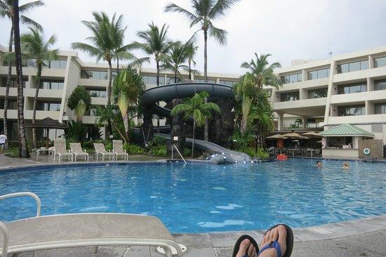Sheraton Kona Resort Spa At Keauhou Bay Water Slide