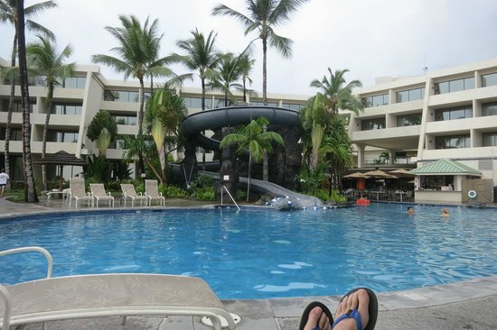 water slide picture of sheraton kona resort spa at keauhou bay rh tripadvisor ca