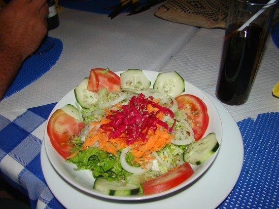 The Blue Sky: salad