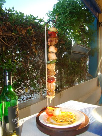 The Blue Sky: mix kebab