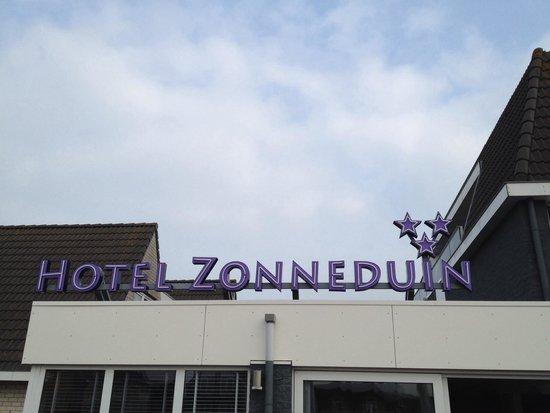 Hotel Zonneduin: Hotelschild