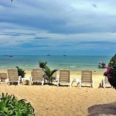 Samed Cabana Resort: Wongduen beach.